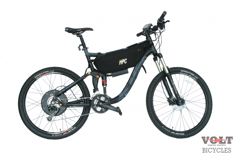 KHS Full Suspension Electric Bicycle