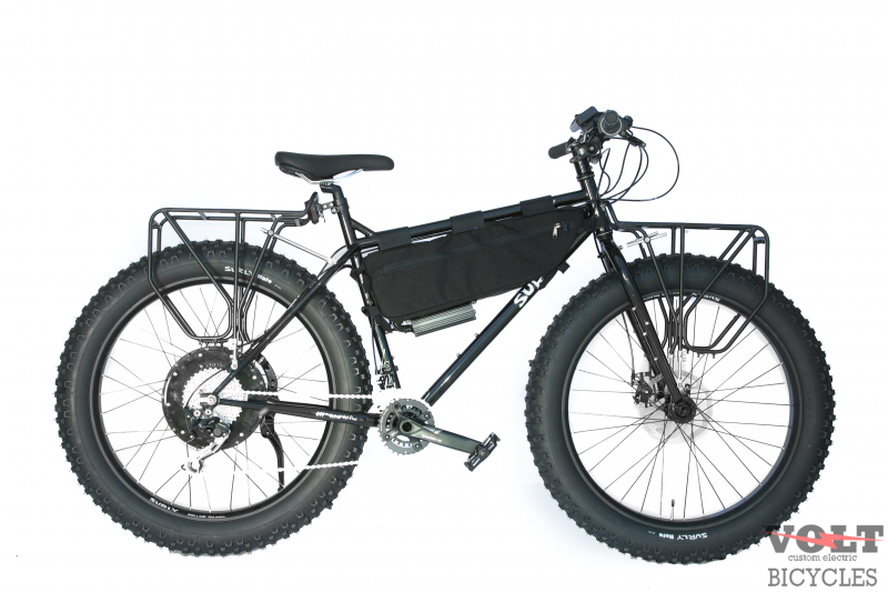 Black Electric Hunting Pugsley Surly